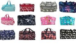 April Fashions sports Lightweight Gym Dance Travel Multi Pocket duffel bag