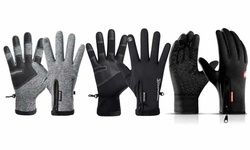 Winter Warm Touch Screen Gloves Waterproof Thick or Thin Driving Slip Gloves