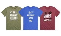 Instant Message: Funny Husband Material Men's Tee