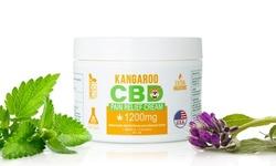 Kangaroo CBD Pain Relief Cream with Menthol & Comfrey Extract (1200mg)