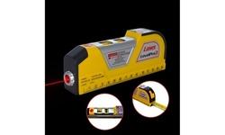 Level Measuring Horizontal Laser Line 8FT Measuring Tape