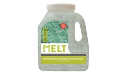 MELT Premium ECO and Pet-Friendly Blend Ice Melt with CMA (25- or 50-lb Bag)