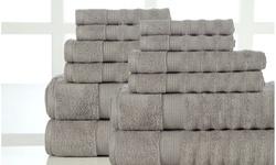 Zero-Twist Luxurious Super-Absorbent Towel Set (6 or 12-Piece)