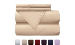 Hotel Collection 300 Thread Count 100% Cotton Percale Weave (4pc)