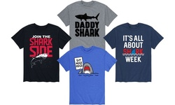 Instant Message: Men's Shark Graphic Tees