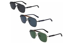 Salvatore Ferragamo Men's Brow-Bar Navigator Sunglasses SF198S
