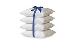 4 Pack Hypoallergenic Down-Alternative Bed Pillow