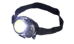 3-in-1 COB and LED Headlamp with Adjustable Headband