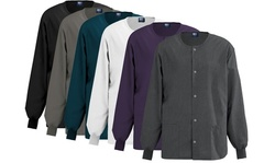 Medgear Women's Scrub Jacket with Snap Front (Also in Plus Sizes)