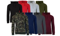 Galaxy By Harvic Men's Slim-Fit Fleece-Lined Pullover Hoodie (S-2XL)