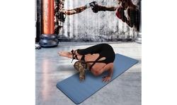 Non-Slip Yoga Mat Gym Mat Multi-Color - Thick TPE (183x61x6cm)
