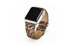 Waloo Sparkle Bling Apple Watch Band - 2 Pack Bundle