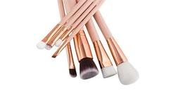 Princess Blush Makeup Brushes Set (8-Piece)