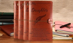 Retro Journal Notebook Leather Travel Notepad Blank Diary