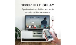 1080 HDMI Phone TV Cable Adapter Converter Fit For iPhone X/XS/7/8 Plus/iPad