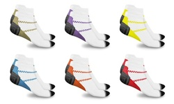 Unisex Ankle-length Compression Socks (6-Pairs)