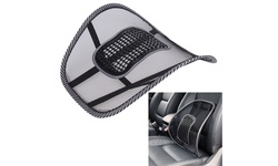Curved Back Massaging Lumbar Mesh Seat Supporter - 2 Pack