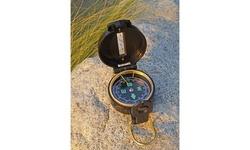 "2"" Lensatic Compass in Black"
