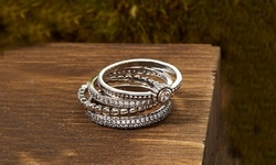 925 Sterling Silver Stackable Ring Set