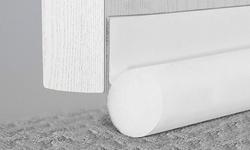 Weatherstrip Soundproof Noise Stopper Sweep Adhesive Door Bottom Seal Strip