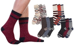Men's Assorted Cozy Winter-Weight Socks (3-Pair Pack)