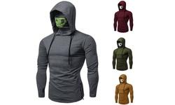 Men Skull Mask Hoodie Sweatshirt Jacket Pullovers Jumper Tops