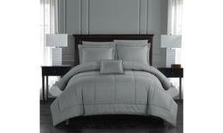 Jordi 6 or 8 Piece Comforter Set Complete Bed in a Bag Bedding - includes Sheet