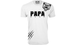 Men's Papa Bear Shoulder Growl T-Shirts (Extended Sizes Available)
