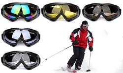Mens Womens Ski Snow Goggles Anti Wind Fog Dust UV Helmet Sunglasses Glasses