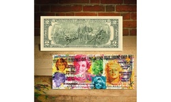 PRINCESS DIANA / MARILYN MONROE Candles in Wind Two-Dollar Bill SIGNED by Rency