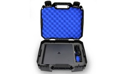 CASEMATIX Console Carrying Travel Case Custom Designed to fit PlayStation 4 Slim