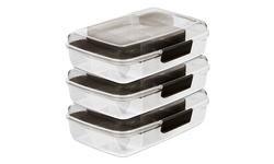 Portion control Meal prep Bento Box Lunch Box with Salad Dressing holder
