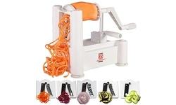 5-Blades vegetable spiralizer, Zucchini Spaghetti Maker -