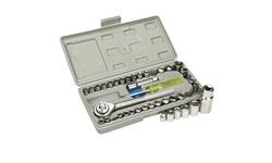 Combination Socket Wrench Set (40-Piece Set)
