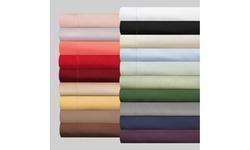 Superior 300 Thread Count Cotton Solid Duvet Cover Set
