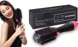 Hair Dryer Brush Hair Dryer Volumizer Hot Air Brush Blow Straightening Curling