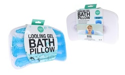 Spa Life Non-Slip Cooling Gel Bath Pillow