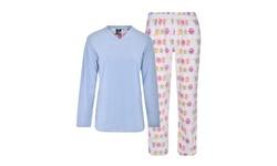 Donna L'oren Women's Fleece Pajamas Set (Plus Size Available)
