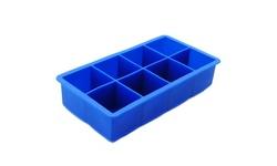 Freshware 8-Cavity Silicone Large Ice Cube Tray, 2-inch Cubes - 1-PC