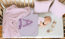 One or Two 30''x40'' Personalized Baby Blankets from Monogram Online (Up to 27% Off)