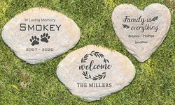 Custom Engraved Large Garden Stone (Up to 49% Off)
