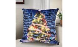 Christmas LED Decorative Throw Pillows