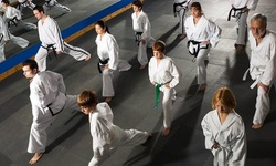 One- or Two-Month Membership with a Uniform for One Child at Harvey's Karate Tae Kwon Do Center (Up to 74% Off)