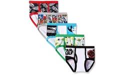 Boys Star Wars, Power Rangers, Jurassic Park, or Trollhunter Underwear (5-Pack)