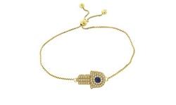 Adjustable Hamsa Bracelet