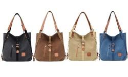 Women Shoulder Canvas Bag Backpack Handbag Ladies Purse Messenger Tote Satchel