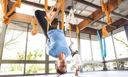5 or 10 Aerial Yoga Classes at AerialMovement (Up to 55% Off)