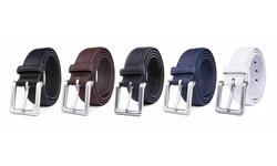 Men's Classic Leather Dress Belts