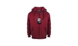 Boy's Long Sleeve Solid Sherpa Lined Hoodie Sweater