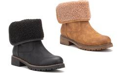 Olivia Miller Women's Cozy Me Up Boot